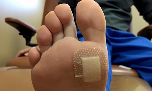 Foot care for amputation prevention