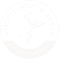 capital foot and ankle logo